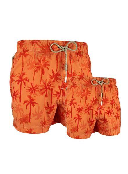Palm Beach Szorty | Chlopcy Pomarańczowy