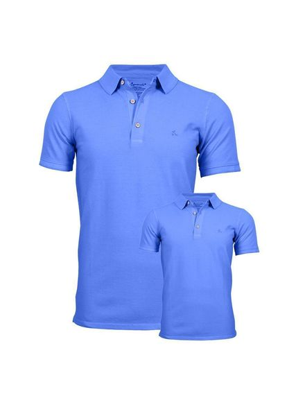 South Beach dziecięca koszulka polo Błękit kobaltowy