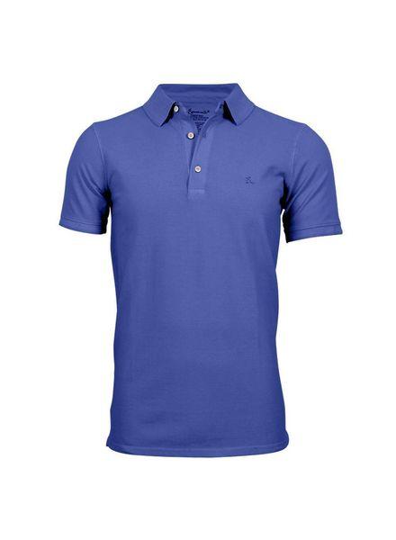 South Beach koszulka polo dla mężczyzn Mocny niebieski