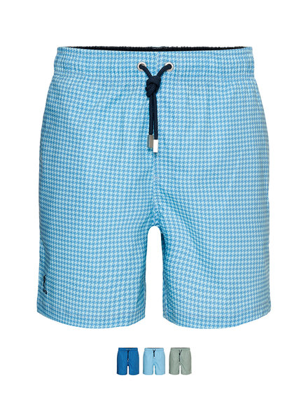 Pied de Poule Swim Short