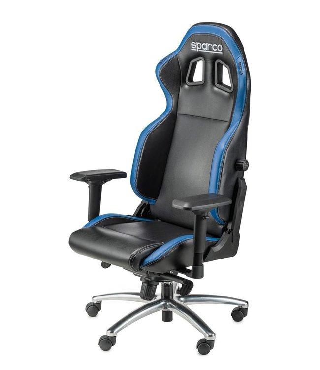 Bureaustoel Blauw Zwart.Sparco Bureaustoel R100 S Zwart Blauw