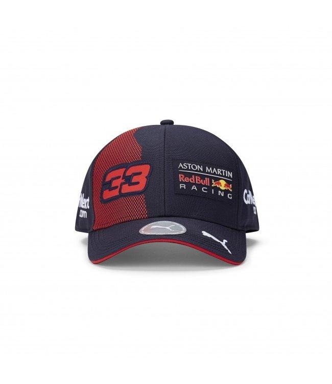 """Red Bull Racing 2020 Driver Kids Baseball Cap """"Max 33"""""""