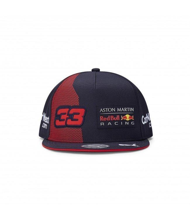 """Red Bull Racing 2020 Driver Kids Flatbrim Cap """"Max 33"""""""