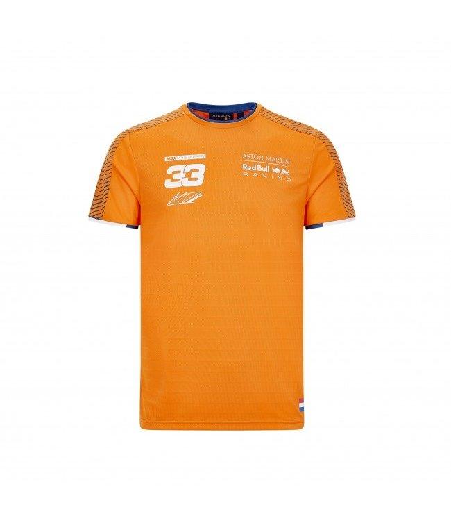 Red Bull Racing  2020 Fan Gear Orange 33 T-shirt Adult