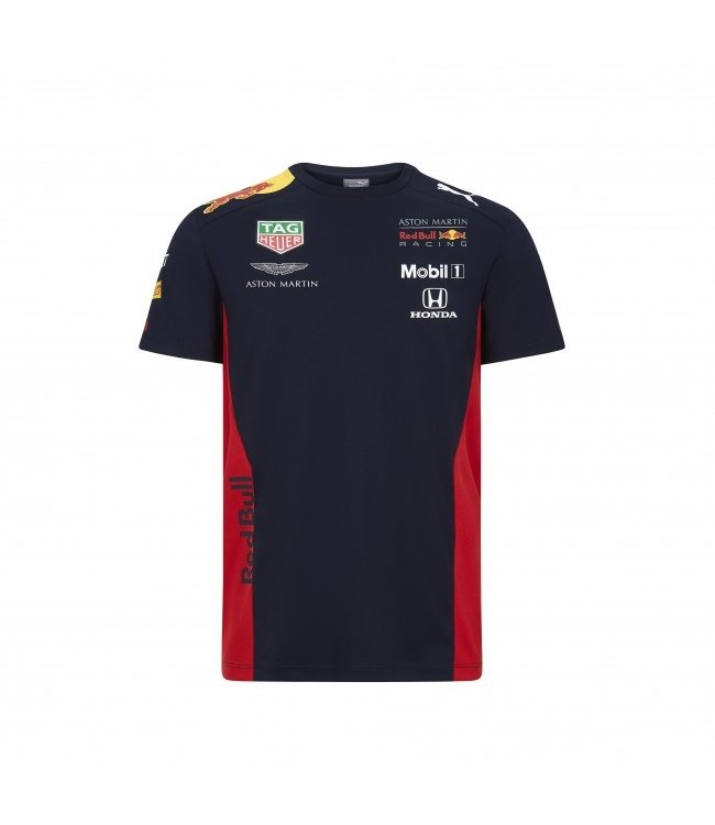 Red Bull Racing 2020 Team T Shirt Heren