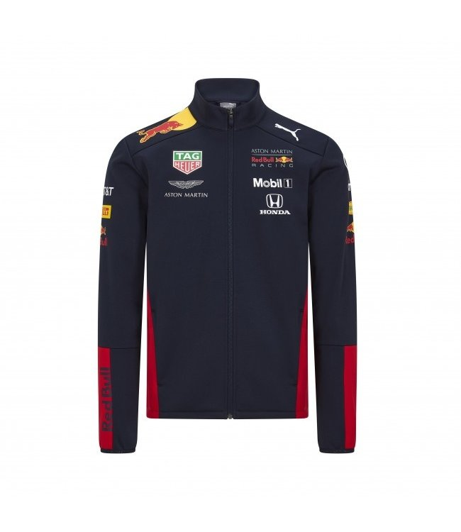 Red Bull Racing Team Softshell Kinderen Collectie 2020