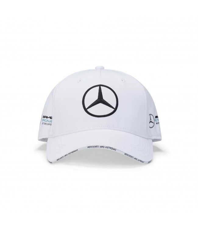 Mercedes AMG F1 Team Baseball Cap White Adult  Collection 2020
