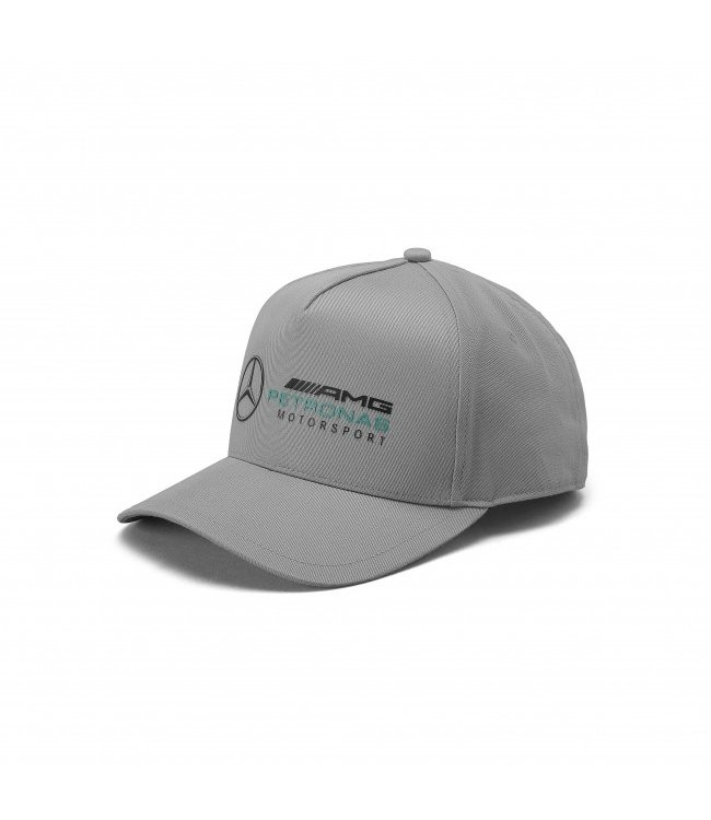 Mercedes AMG F1 Racer Baseball Cap Gray Adult Collection 2020