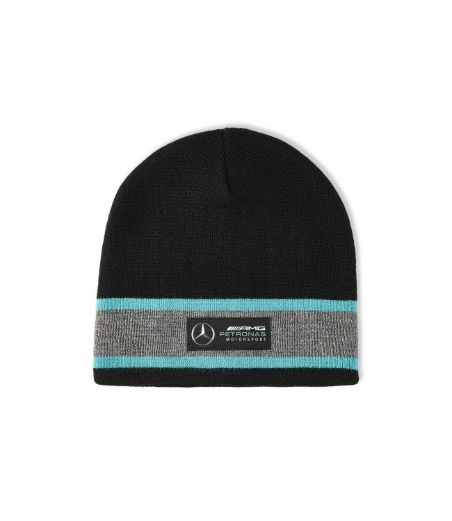 Mercedes AMG F1 Team Beanie Black Adult  Collection 2020