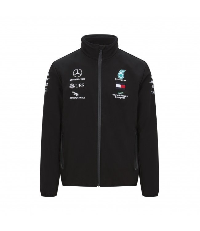 Mercedes AMG F1 Team Softshell Adult Collectie 2020