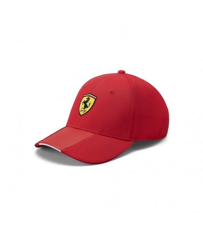 Ferrari F1 Team Scudetto Carbon Strip Cap Red Adult Collectie 2020