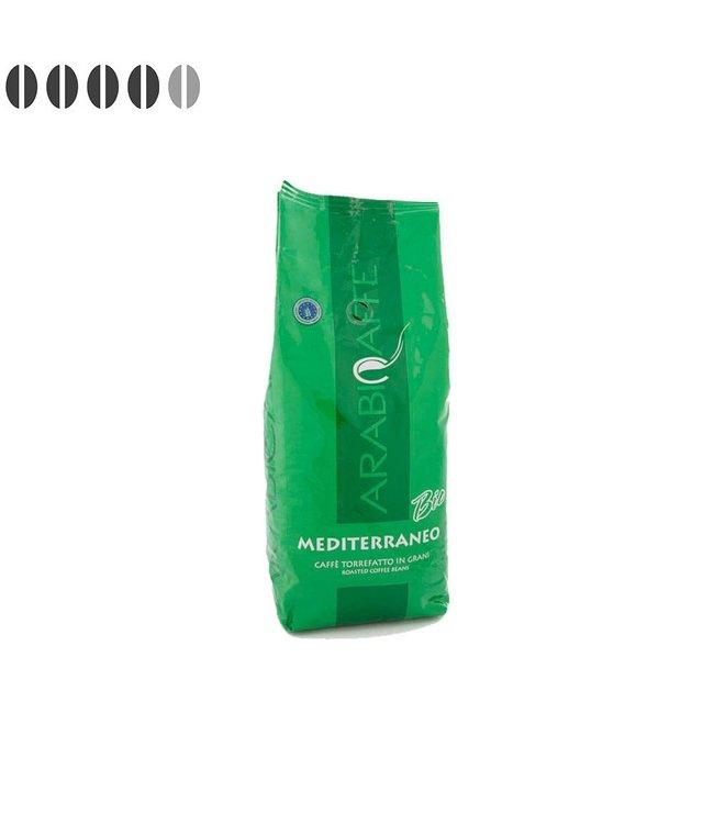 Arabicaffe Mediterraneo Italiaanse BIO koffiebonen 1kg