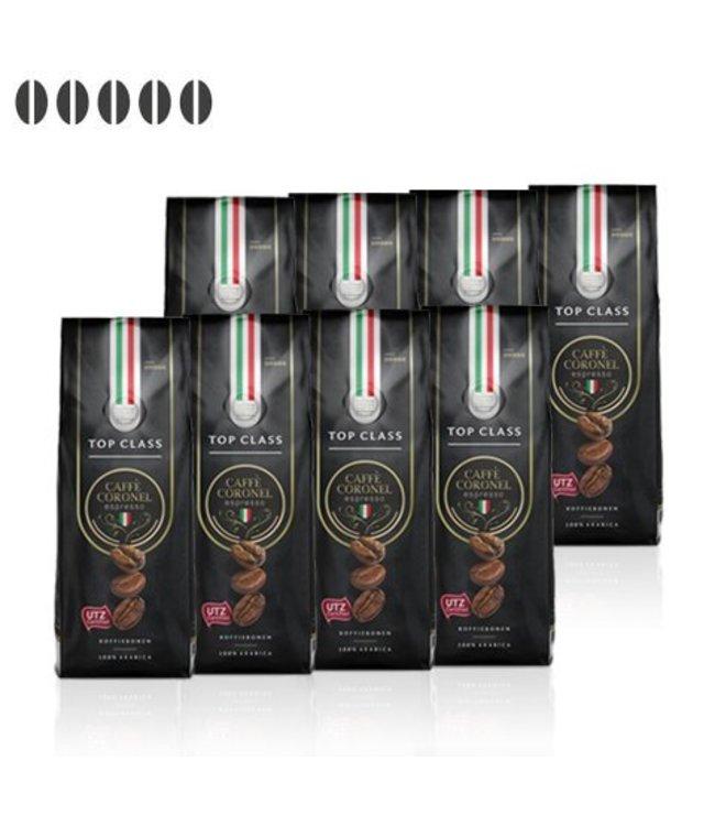 Caffè Coronel Top Class Italiaanse koffiebonen 8kg