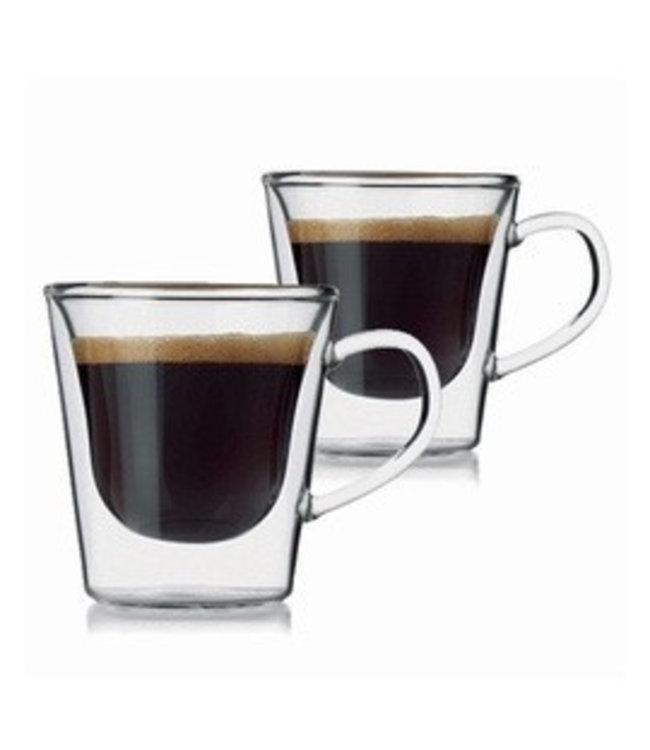 Luigi Bormioli Espressoglazen 2 stuks