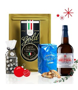 Caffè Coronel Kerstpakket Koffie Connaisseur