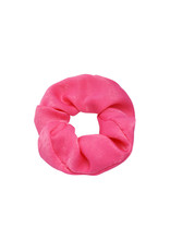 SCRUNCHIE SATIN PINK
