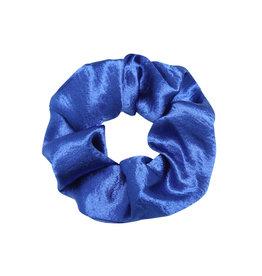 SCRUNCHIE SATIN BLUE