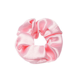 SCRUNCHIE SATIN SHINY ROSE