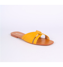 MULE SANDAL YELLOW