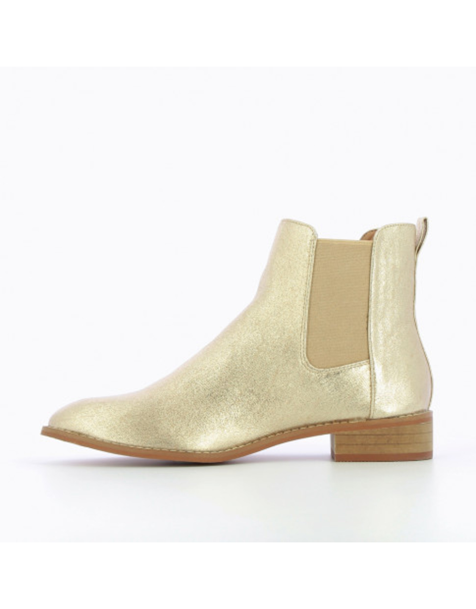 CHELSEA BOOTS GOLD
