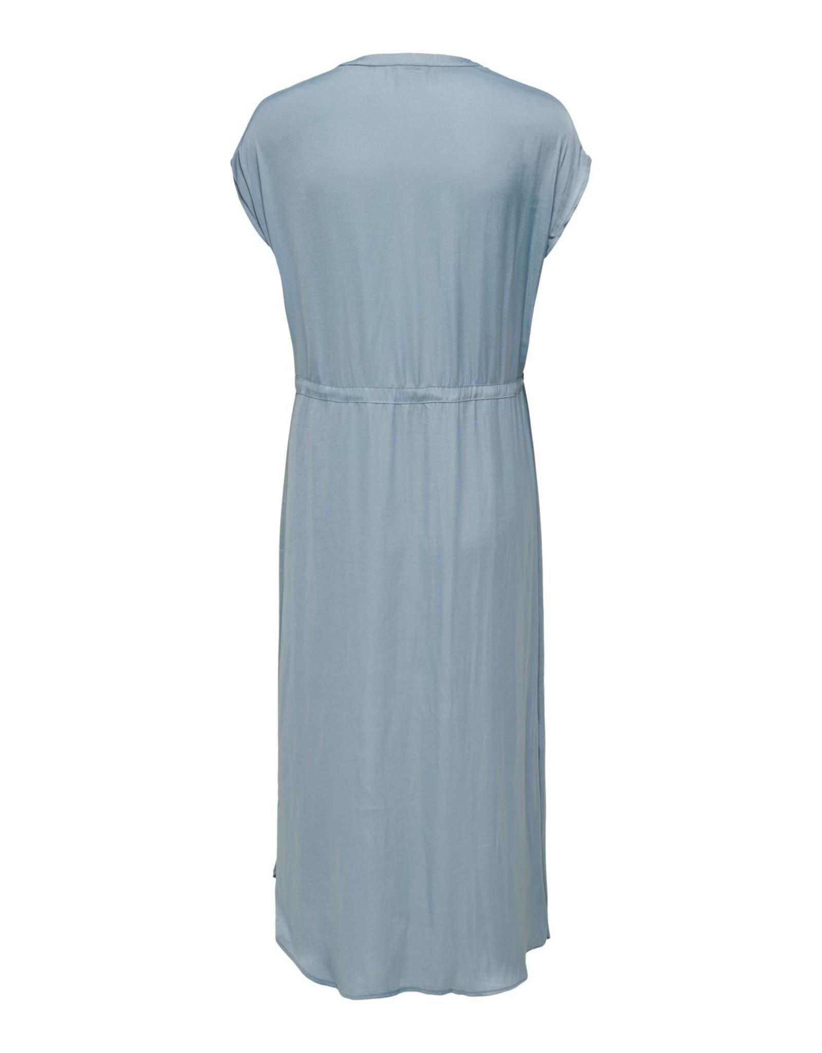 ZOE DRESS SOFT BLUE