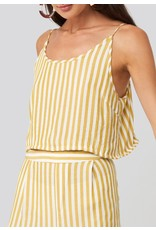 STRIPED SINGLET YELLOW