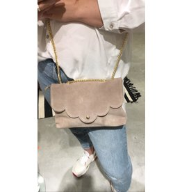 SUEDE BAG BEIGE