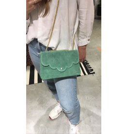 SUEDE BAG MINT GREEN