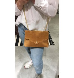 SUEDE BAG CAMEL