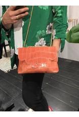 LEATHER BAG PINK/SALOM