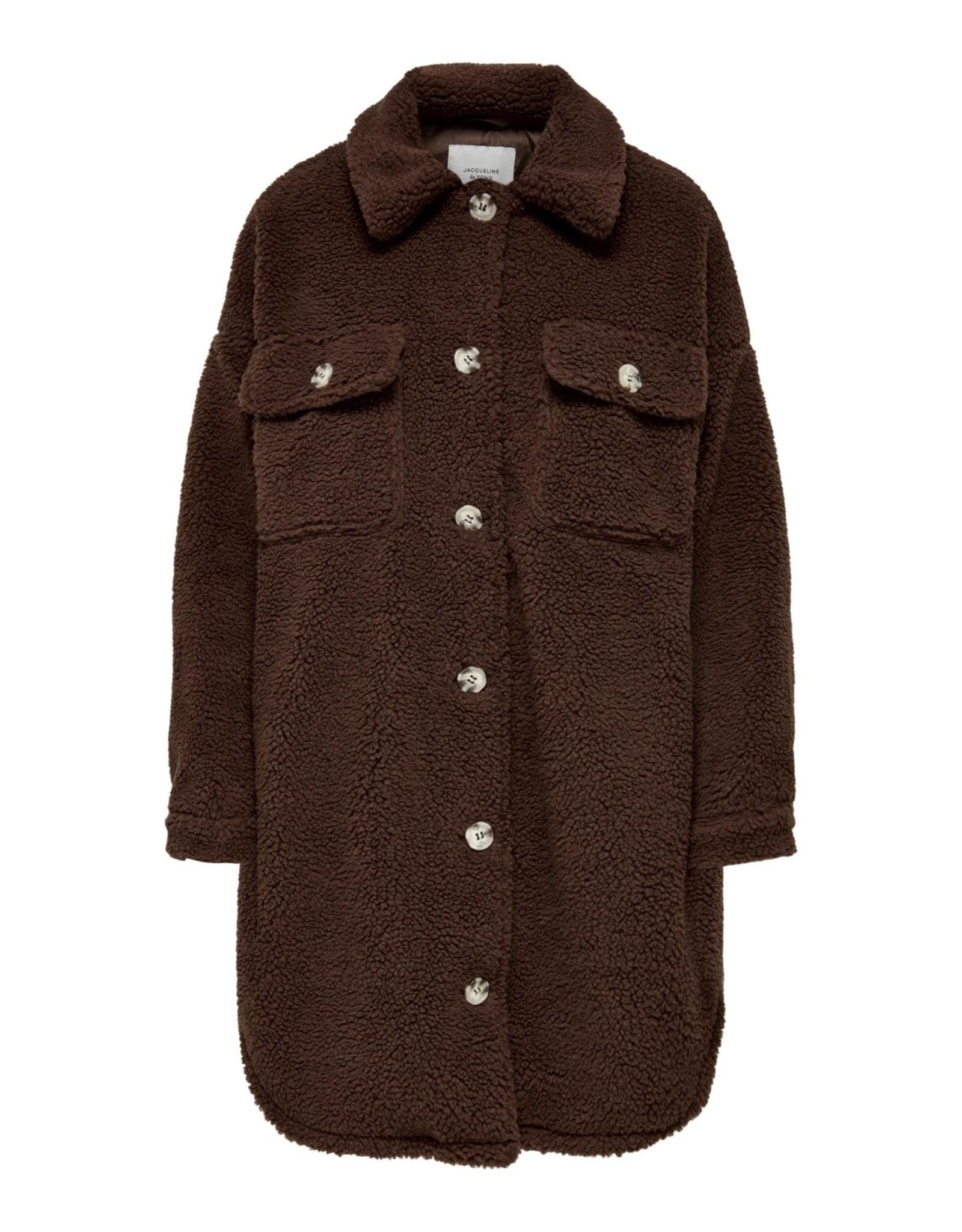 TEDDY COAT BROWN