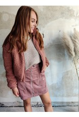 TEDDY BOMBER PINK