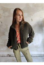 TEDDY BOMBER GREEN
