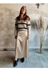 ELIZA SKIRT BEIGE/GOLD