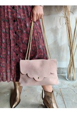 SUEDE BAG ROSE