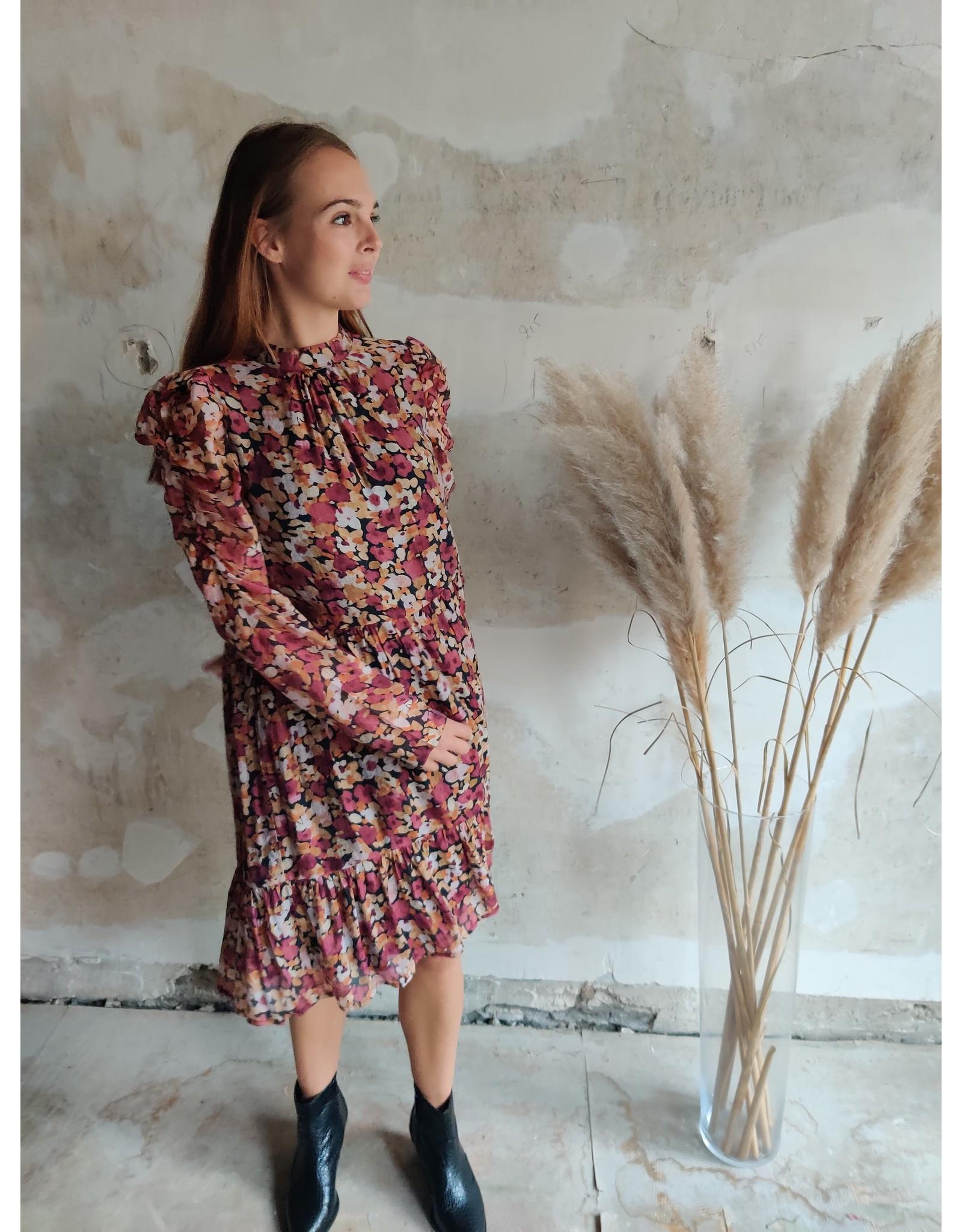 AMANDA DRESS ROSE