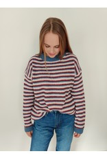 SOPHIE STRIPED SWEATER MULTI