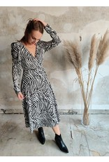 ZEBRA DRESS BLACK/WHITE
