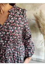ROX FLOWER DRESS ROSE
