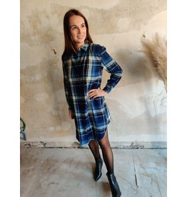 PENNY SHIRT DRESS BLUE