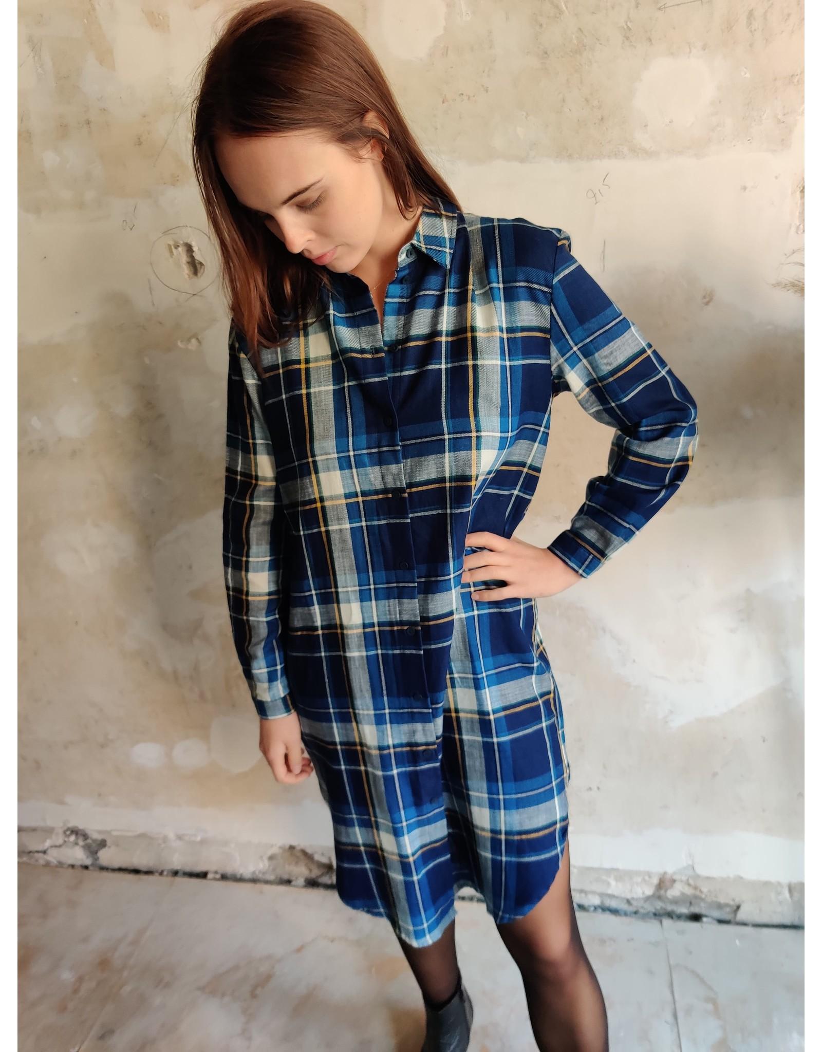 PENNY SHIRT DRESS BLUE