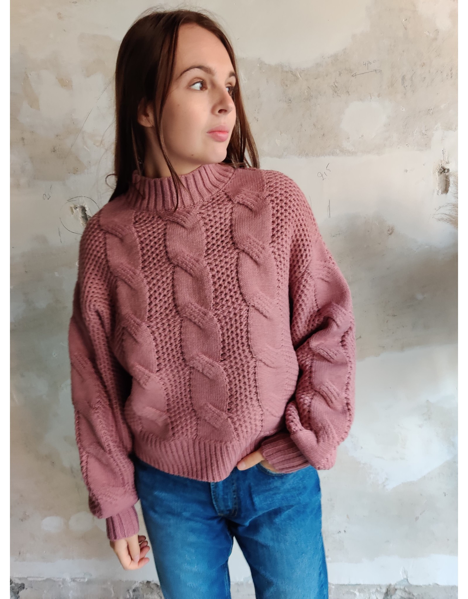 LEXI PULLOVER PINK