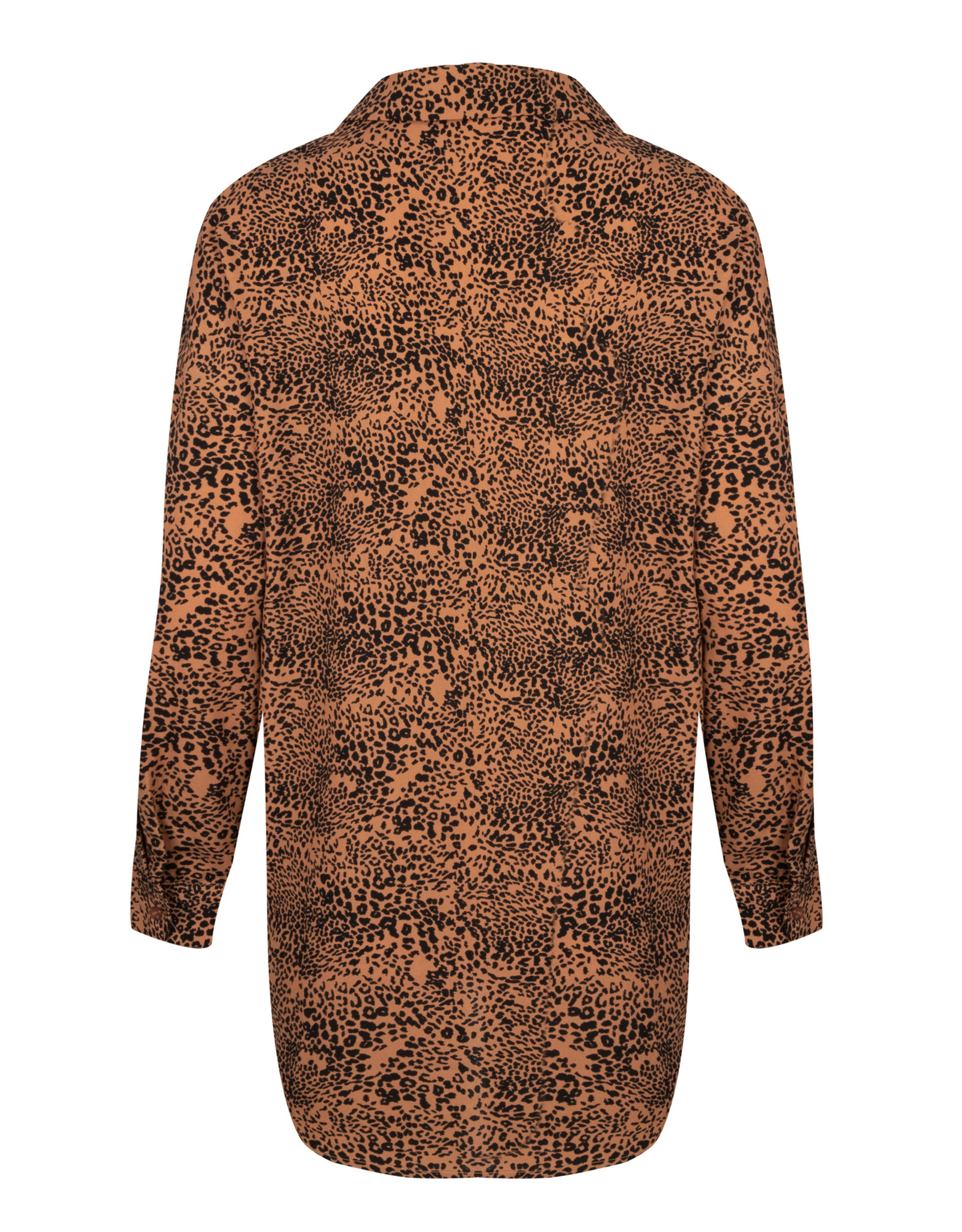 AMBER LEO BLOUSE BROWN