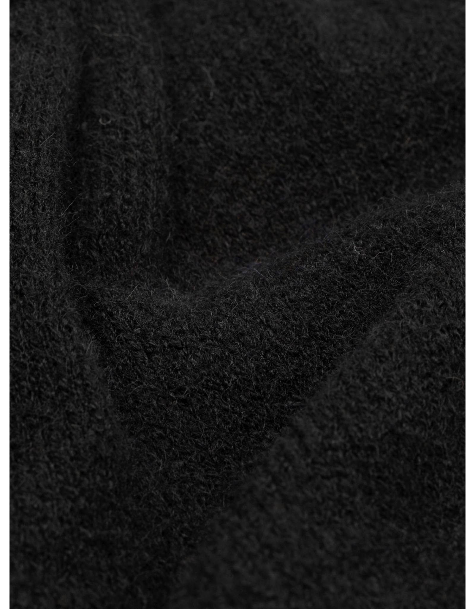 TURTLE NECK PULLOVER BLACK