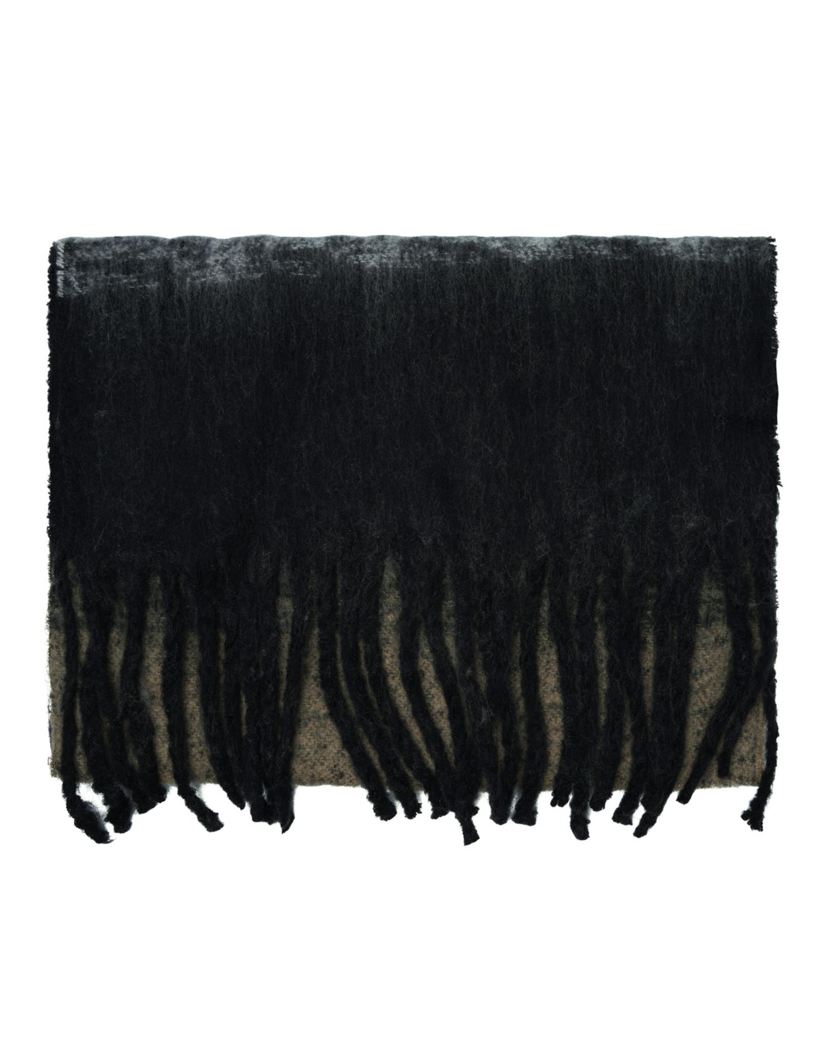 SCARF BLOCK BLACK