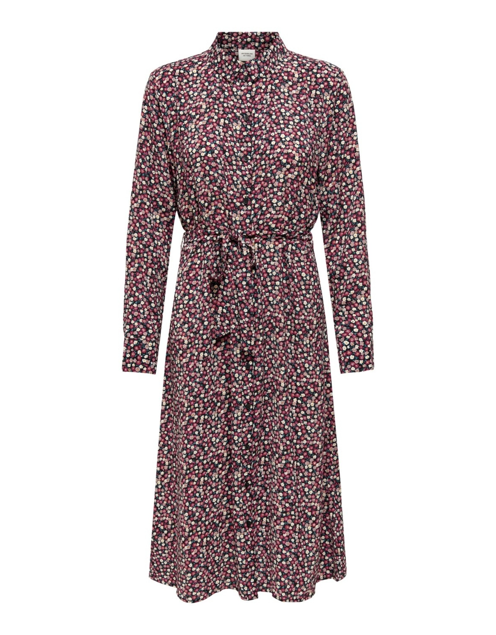 PIPER FLORAL DRESS PINK