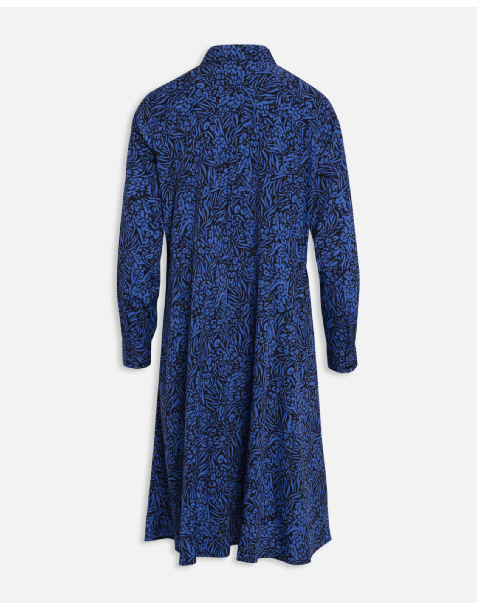 PRINT DRESS BLUE