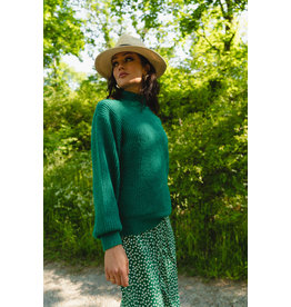 MELINA KNIT GREEN