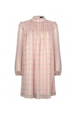 CELINE DRESS PINK CHECK
