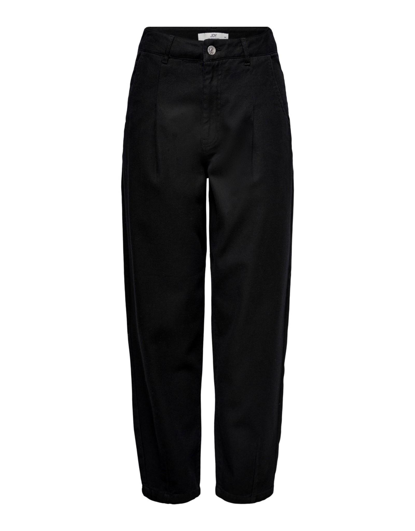 MADDIE SLOUCHY ANKLE PANTS BLACK